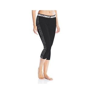 Under Armour Graphic Capris Size Small Black
